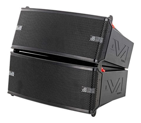 Caixa Line array Db Technologies Dva M2m+m2s 400w