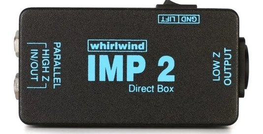 Direct Box Whirlwind IM2 Passivo