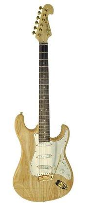 Guitarra Tagima Special T735 Gold Ash Strato Protótipo