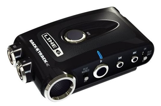 Interface de áudio Line 6 Back Track F6 C/ Mic Outlet