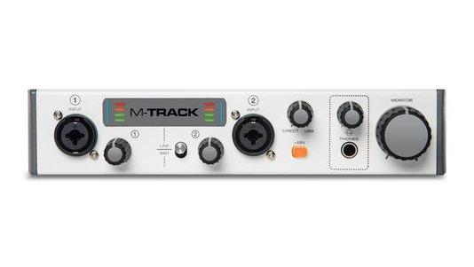 Interface de áudio M Áudio M-track 2 2x2 USB 2 canais
