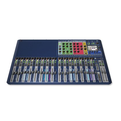 Mesa De Som Digital Soundcraft Si Expression 3 32 Canais