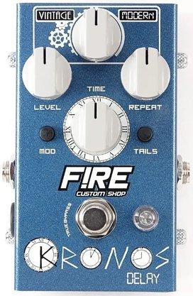 Pedal Efeito Fire Kronos Delay Vintage Para Guitarra