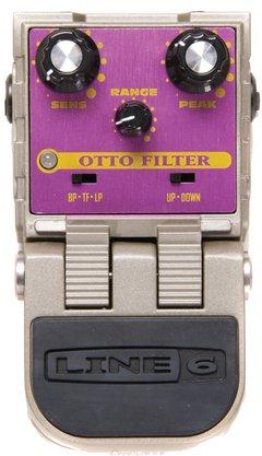 Pedal Efeito Line 6 Otto Filter Para Guiatarra