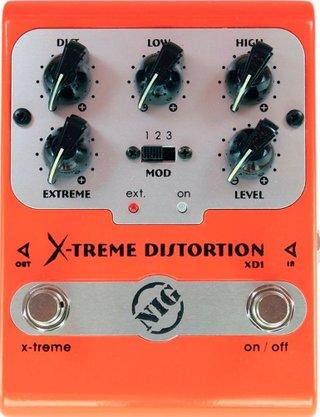 Pedal Efeito Nig X-treme Distortion XD1 Para Guitarra