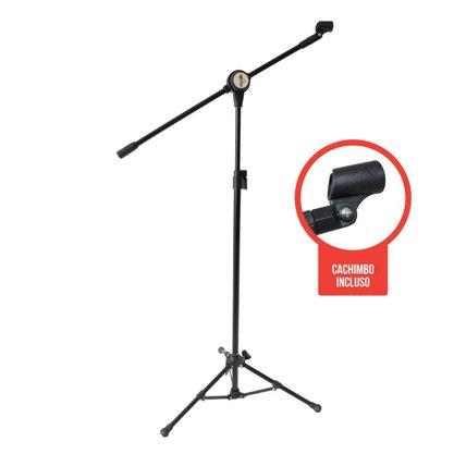 Pedestal P/ Microfone Tipo Girafa Pmv 100 P
