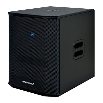"""Subwoofer Oneal OBSB 3500 15"""" Grave 450W RMS passivo"""