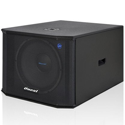 "Subwoofer Oneal OPSB3215 15"" Grave 600W RMS ativo"