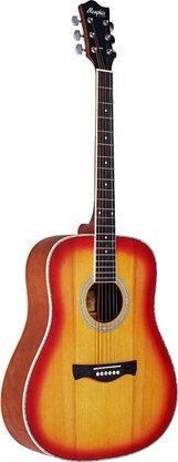 Violão Tagima Memphis MD 20 Folk Cherryburst Outlet